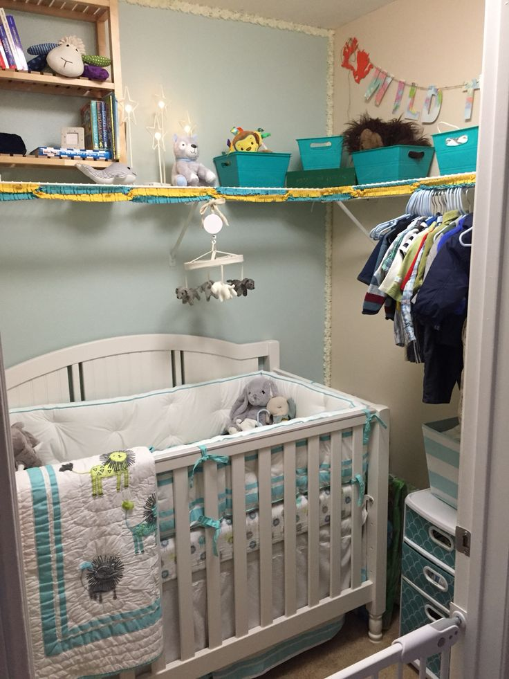 We Turned A Master Closet Into A Nursery Finished Baby Room Pinterest We Nurseries And