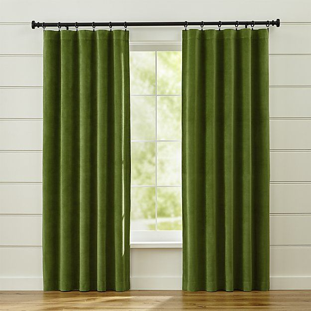 The 25 Best Ideas About Green Curtains On Pinterest Dining Room