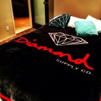 Diamond supply co. Bed set