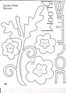 25+ best ideas about Flower applique patterns on Pinterest