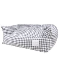 louisdog-gingham-dog-bed-charcoal.jpg 600600 pixels ...
