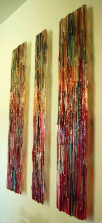 Transpire Wall Panels: Sarinda Jones: Art Glass Wall Art