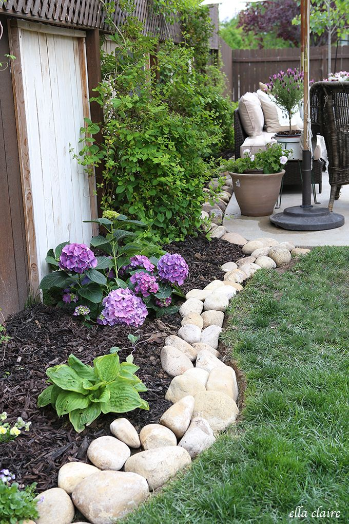 25 Best Ideas About River Rock Gardens On Pinterest Rock Garden