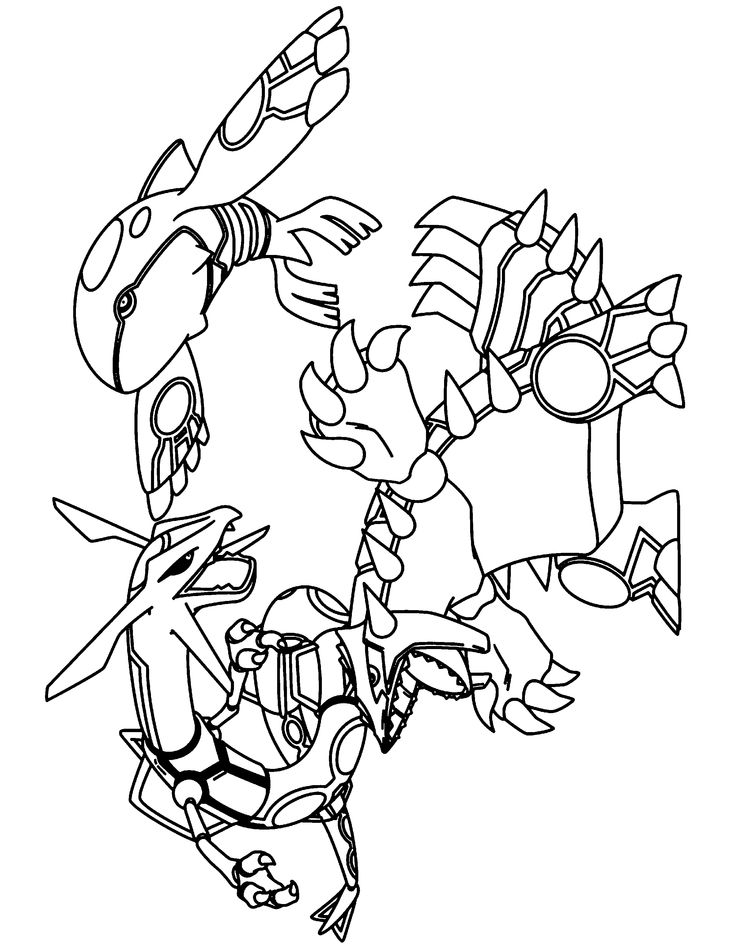 Printable D 20 Pokemon Coloring Pages