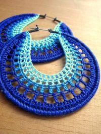 25+ best ideas about Crochet earrings on Pinterest