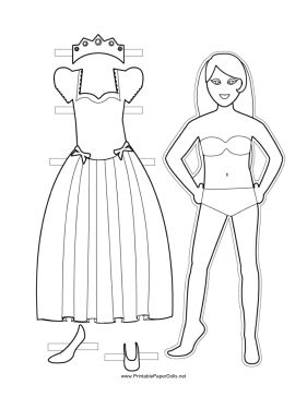 14 best images about Printable Paper Dolls on Pinterest