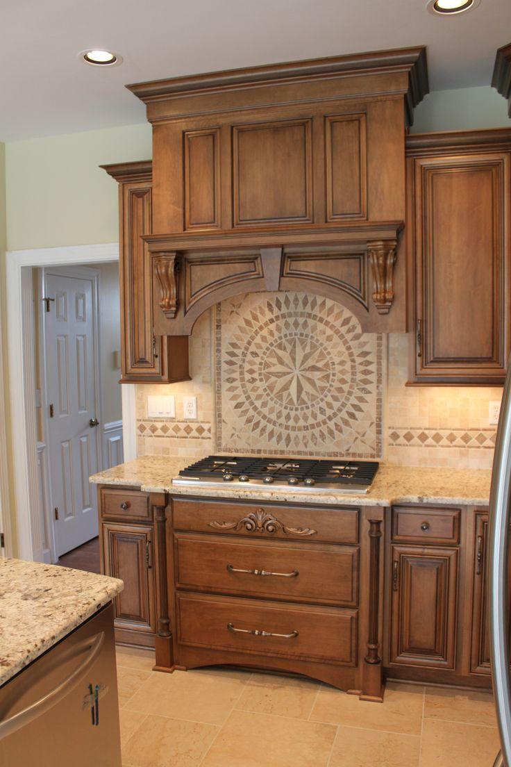 Shiloh Cabinetry Maple Acorn With Vandyke Glaze On