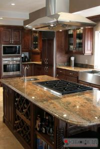 Kitchen Island Ideas With Stove Top - WoodWorking Projects ...