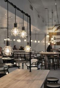 25+ best ideas about Cafe lighting on Pinterest