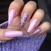 Best 25+ Pink sparkle nails ideas on Pinterest | Sparkly ...