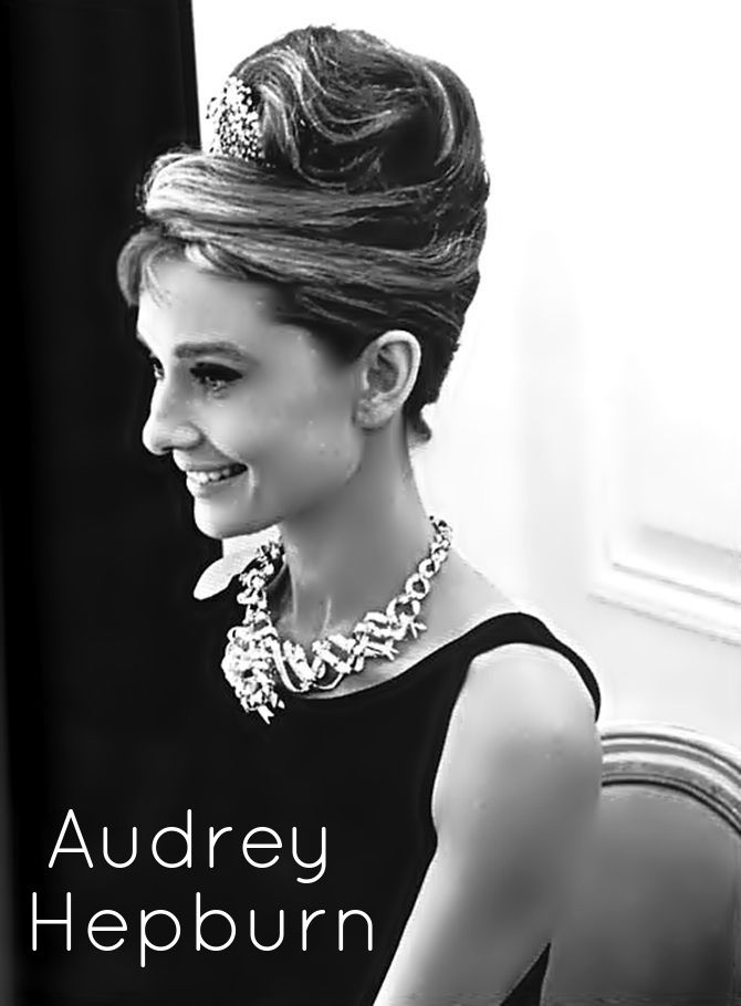 Les 25 Meilleures Idées De La Catégorie Coiffures Audrey Hepburn