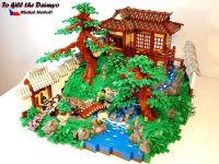 Lego Japanese Garden | LEGO | Pinterest | Gardens, Lego ...