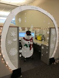 Work Cubicle Decorating Ideas