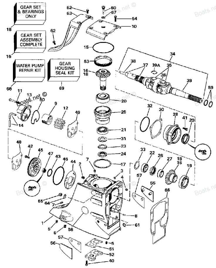 Outdrive Diagram Together With Omc Cobra Outdrive Parts Diagram