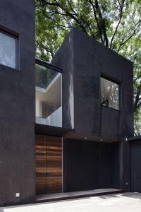 modernism minimalism exterior design concrete wood glass ...