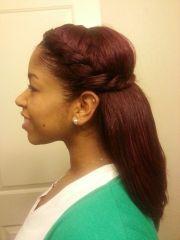 two strand twist-braid hairspiration