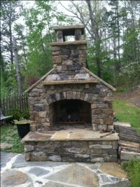 25+ Best Ideas about Outdoor Fireplace Kits on Pinterest