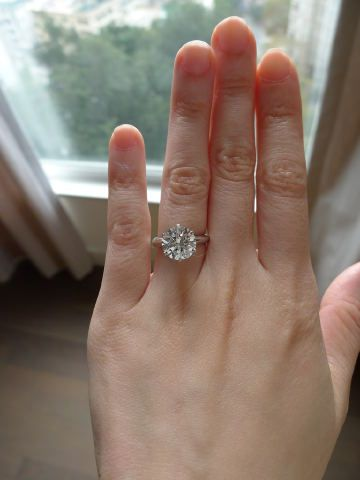 Should I Reset My Tiffany Solitaire Into An Embrace
