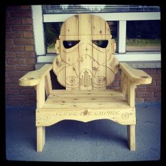 Best Adirondack Chairs Gravity Chair Home Depot Stormtrooper | Thinkgeek Star Wars Pinterest Awesome, Decks And House