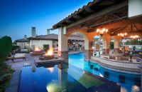 Ultimate Backyard Paradise - mediterranean - pool - los ...
