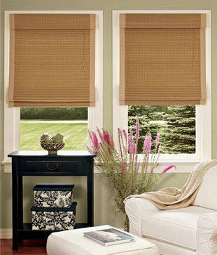 Country Curtains Bamboo Insulated Roman Shades httpwww