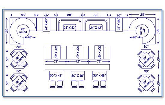 Restaurant Seating Chart & Design