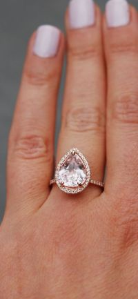 25+ best ideas about Pear engagement rings on Pinterest ...