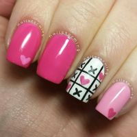 25+ Best Ideas about Valentine Nails on Pinterest ...
