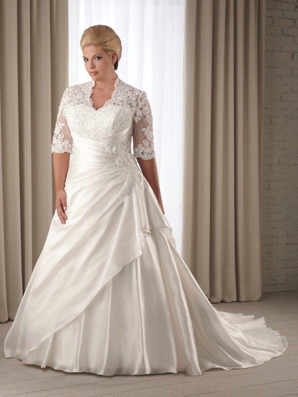 25 Best Ideas About Hochzeitskleider Große Größen On Pinterest