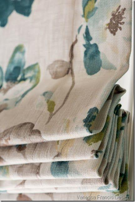 Roman shade from Tonic Living  Vanessa Francis Design