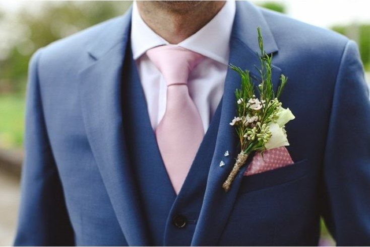I Like The Variety Of Textures In The Boutonnire If The