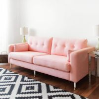 Best 25+ Pink sofa ideas on Pinterest | Blush grey copper ...