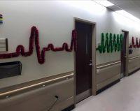 Hospital garland decorations cardiac ward humor | Humor ...