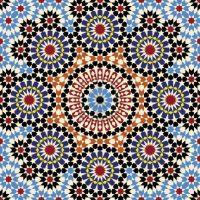 moroccan tile pattern | Geometric Print | Pinterest ...