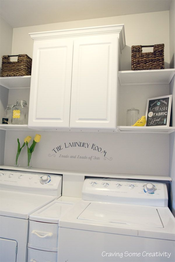 25+ best ideas about Laundry Room Shelves on Pinterest