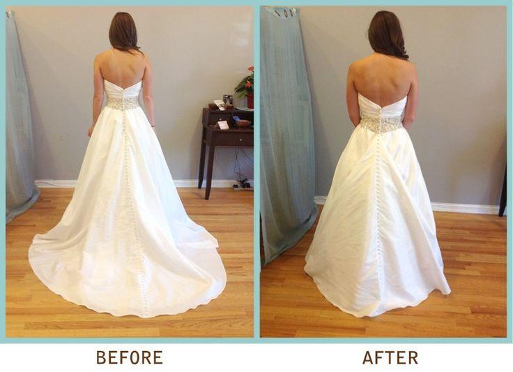 Best 25+ Wedding Dress Bustle Ideas On Pinterest