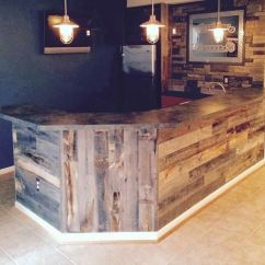 Whiskey Barrel Pub Table And Chairs Swing Chair Quotes Best 25+ Rustic Basement Bar Ideas On Pinterest | Basement, Pallet Walls Wall ...