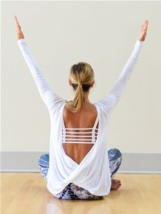 So what this top is for yoga….. I would wear this anytime. Love it