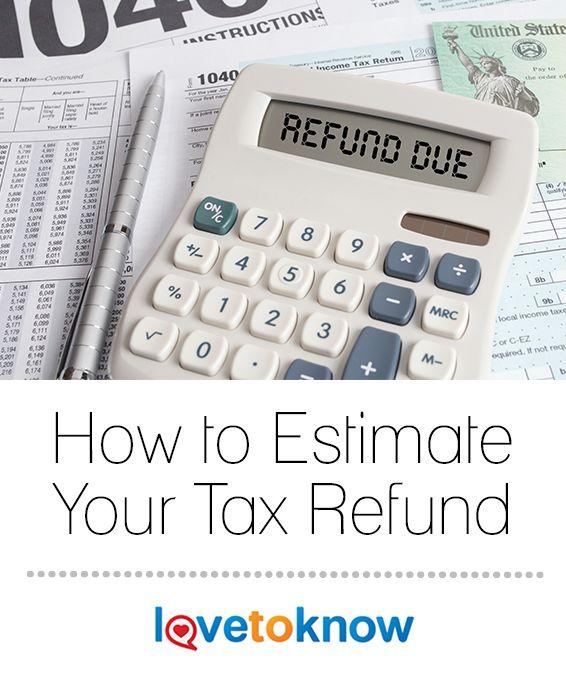 Estimate My State Tax Refund