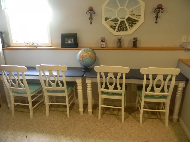 Homeschool Desk Ideas