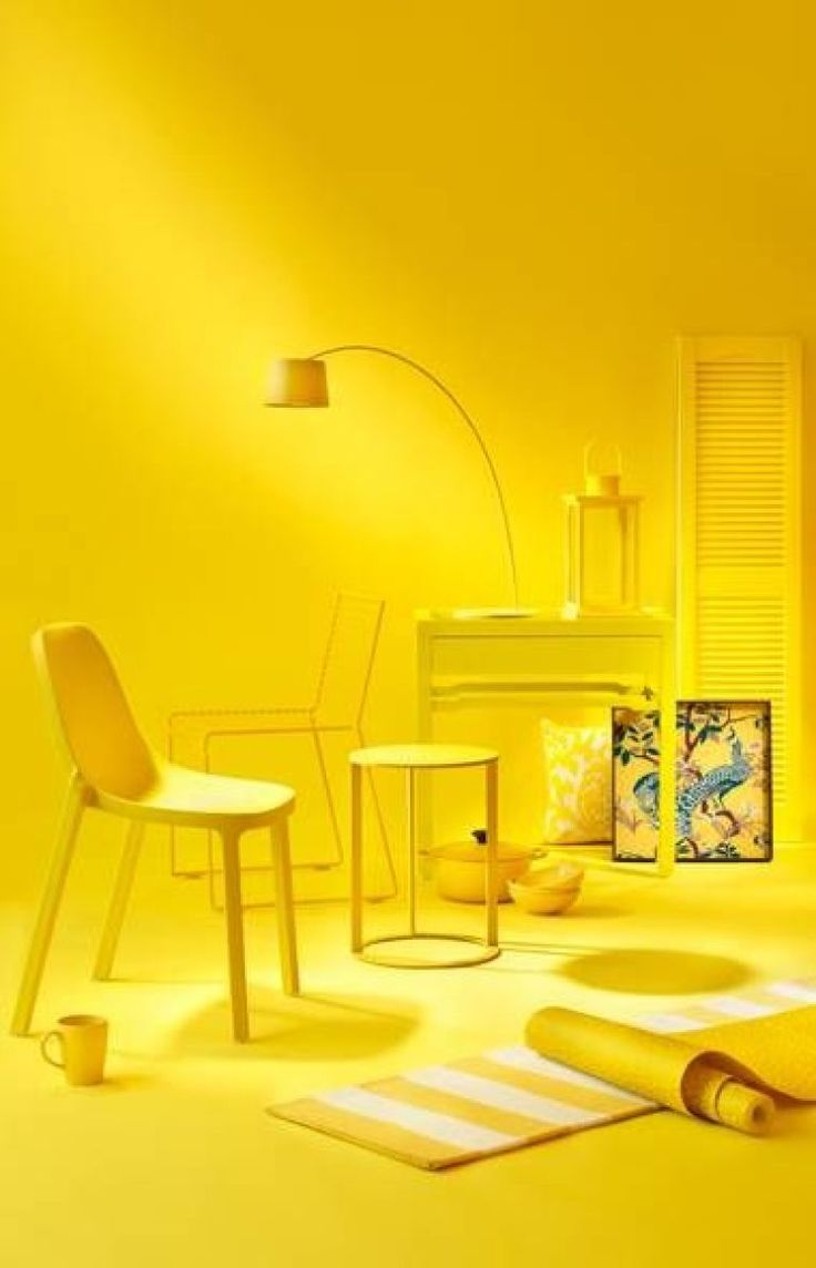 Jump in the Deep End and Paint EVERYTHING Yellow  Yellow Magic  Pinterest  Home The ojays