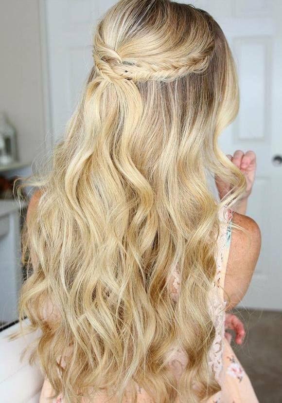 25 Best Ideas about Long Prom Hair on Pinterest  Grad