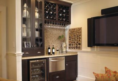 Kitchen Cabinet Bar Ideas