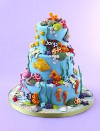 Ocean, Beach, Underwater Decorated Cake | Amazing Cakes ...
