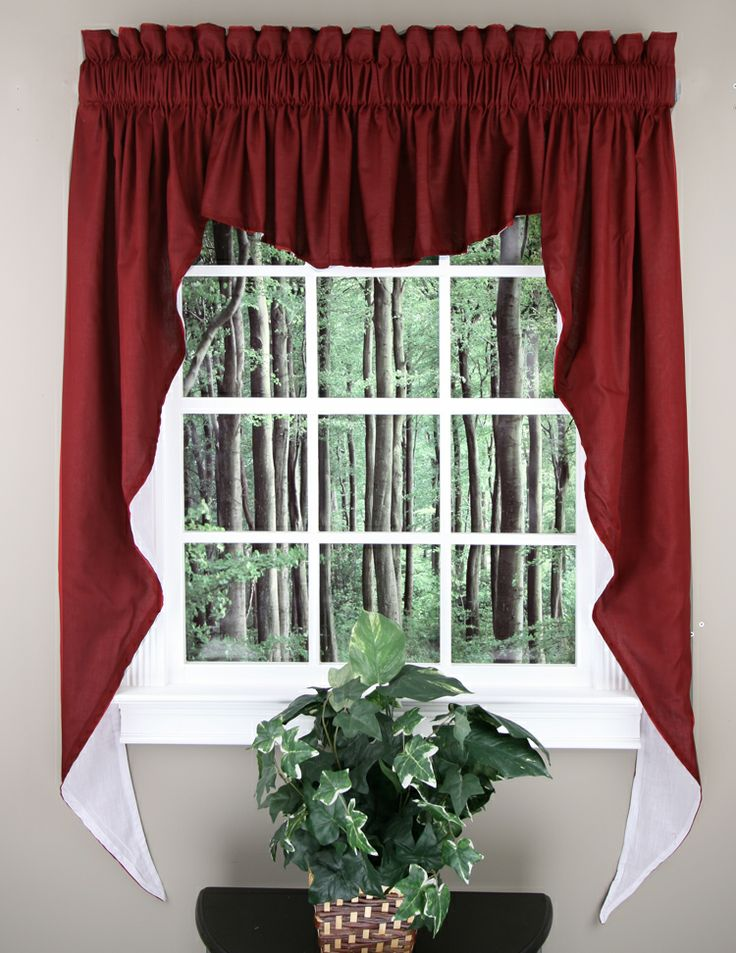 20 Best Images About Jabot & Swag Kitchen Curtains On Pinterest