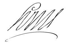 Firma de Luis XIV de Francia Autor: Luis XIV de Francia