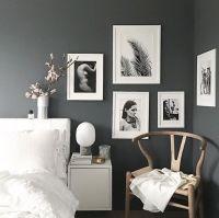 Best 25+ Charcoal walls ideas on Pinterest | Charcoal ...