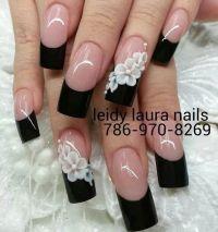 25+ best ideas about Dark nail designs on Pinterest