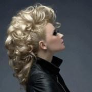 boisterous mohawk updo with curls