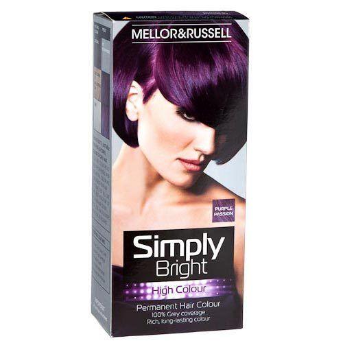 Henna Hair Dye Purple